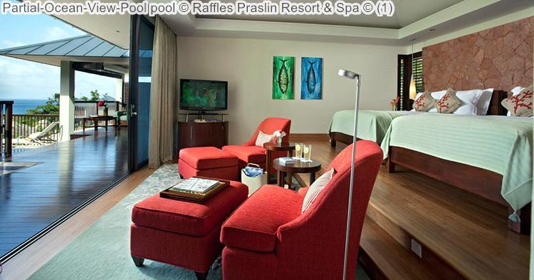 Partial Ocean View Pool Pool © Raffles Praslin Resort & Spa ©