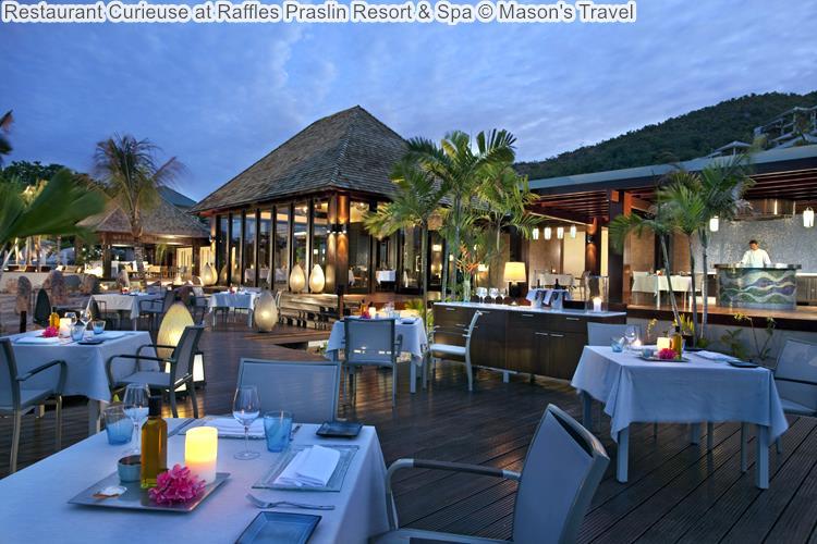 Restaurant Curieuse at Raffles Praslin Resort Spa