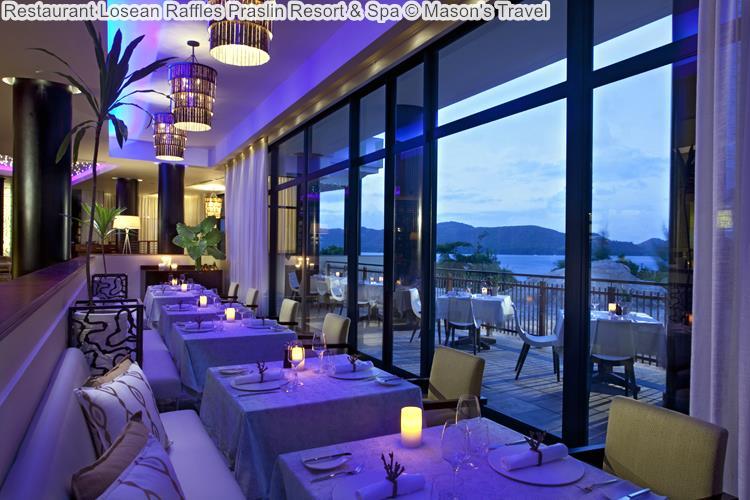 Restaurant Losean Raffles Praslin Resort Spa