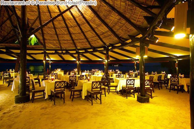 Restaurant Of © Paradise Sun Hotel (Praslin)