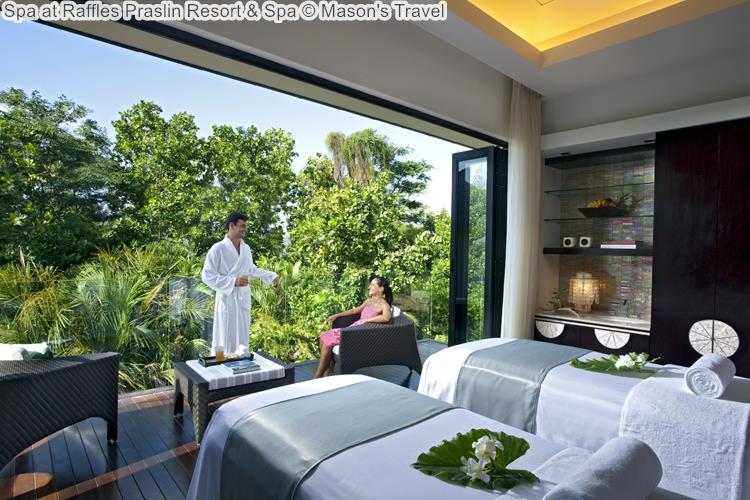 Spa at Raffles Praslin Resort Spa