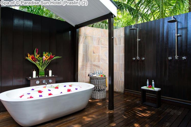 Spa of Paradise Sun Hotel Praslin