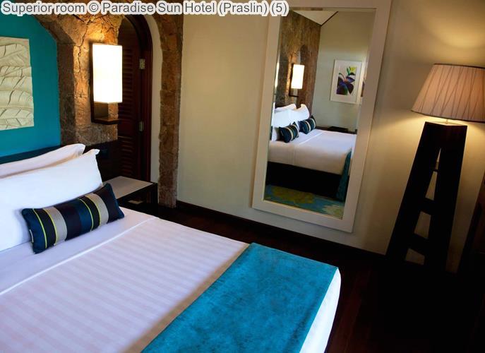 Superior room Paradise Sun Hotel Praslin