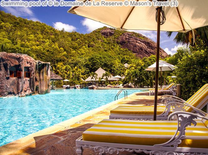 Swimming pool of le Domaine de La Reserve