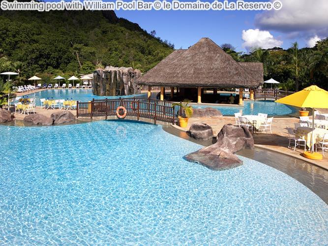 Swimming Pool With William Pool Bar © Le Domaine De La Reserve ©