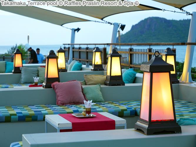 Takamaka View Pool © Raffles Praslin Resort & Spa ©