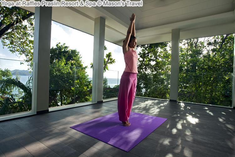 Yoga at Raffles Praslin Resort Spa