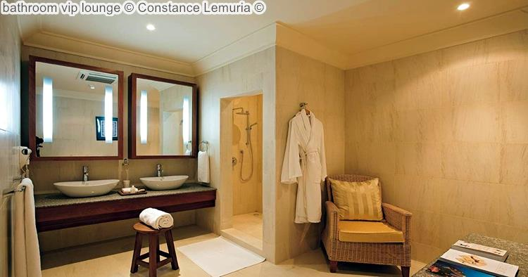 bathroom vip lounge Constance Lemuria