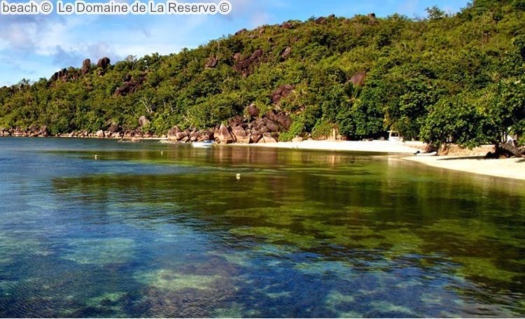 beach Le Domaine de La Reserve