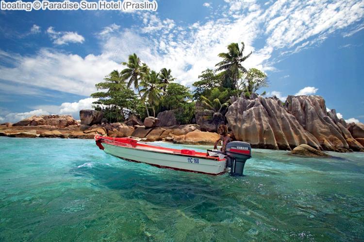 boating Paradise Sun Hotel Praslin