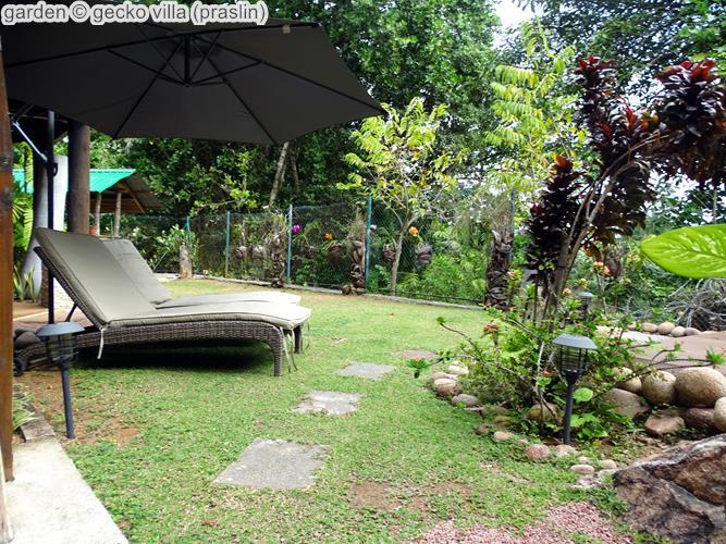 Garden © Gecko Villa (praslin)