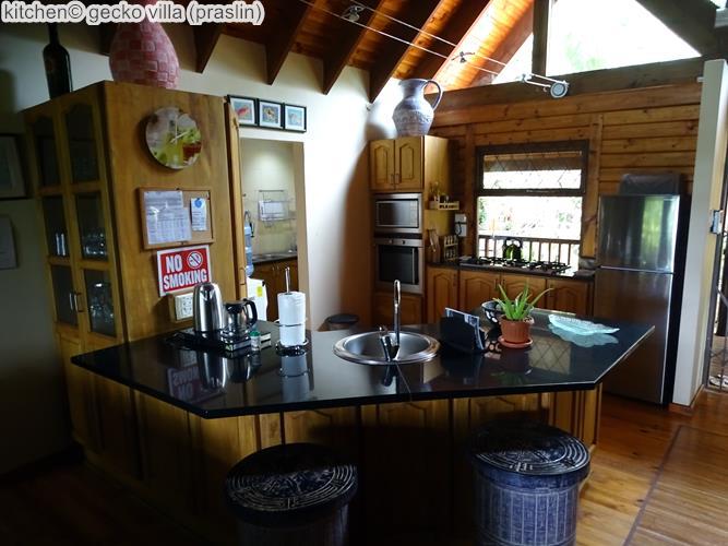 kitchen gecko villa praslin