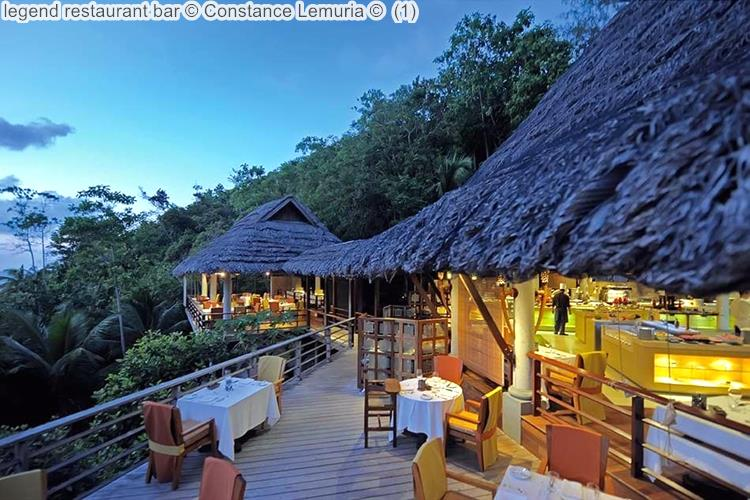 legend restaurant bar Constance Lemuria
