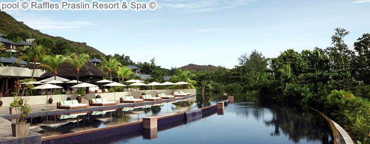 pool Raffles Praslin Resort Spa