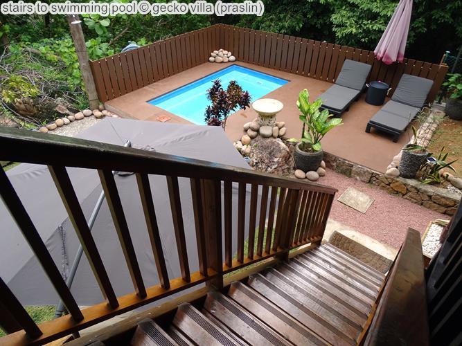 Stairs To Swimming Pool © Gecko Villa (praslin)