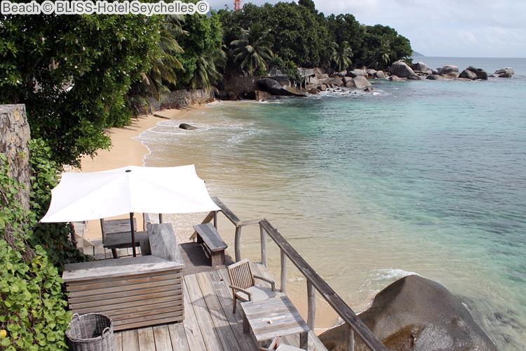 Beach BLISS Hotel Seychelles