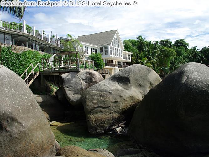 Seaside from Rockpool BLISS Hotel Seychelles