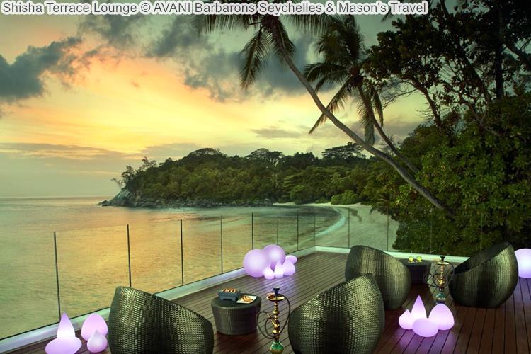 Shisha Terrace Lounge AVANI Barbarons Seychelles