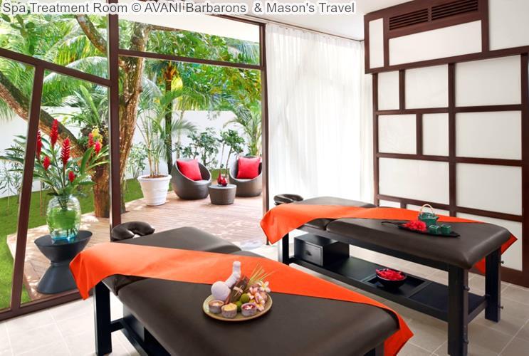 Spa Treatment Room © AVANI Barbarons & Mason's Travel