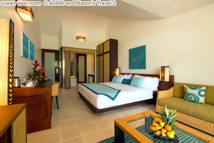 ocean view room AVANI and