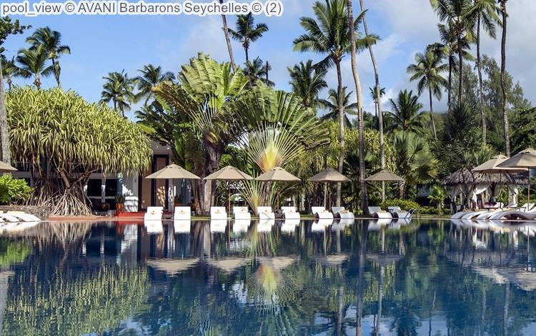 pool view AVANI Barbarons Seychelles