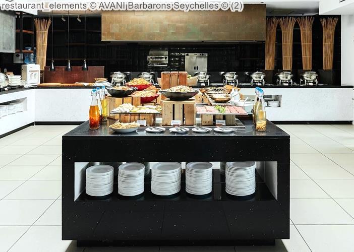 Restaurant Elements © AVANI Barbarons Seychelles ©