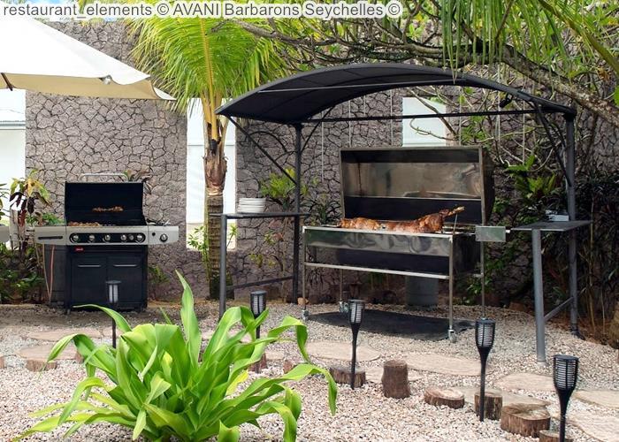 restaurant elements AVANI Barbarons Seychelles