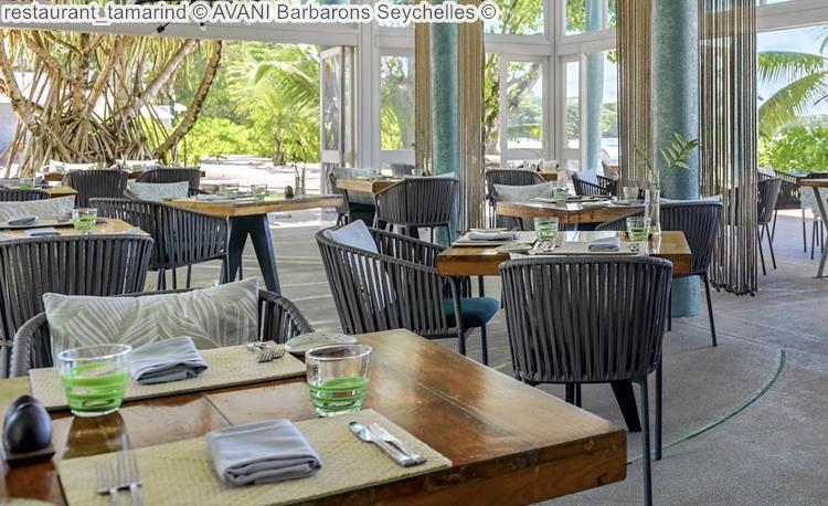 restaurant tamarind AVANI Barbarons Seychelles