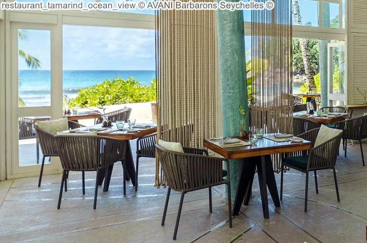 restaurant tamarind ocean view AVANI Barbarons Seychelles