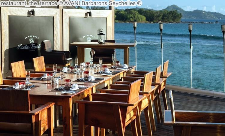 restaurant the terrace AVANI Barbarons Seychelles