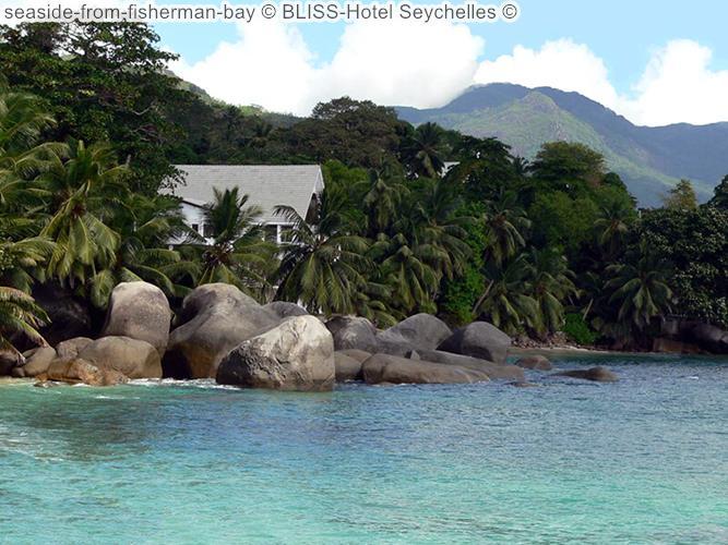 Seaside From Fisherman Bay © BLISS Hotel Seychelles ©