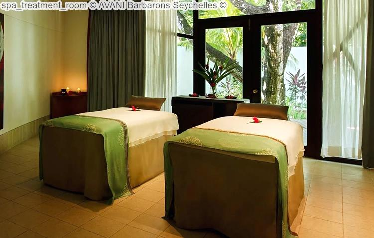 spa treatment room AVANI Barbarons Seychelles