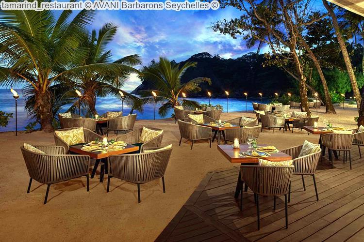 tamarind restaurant AVANI Barbarons Seychelles