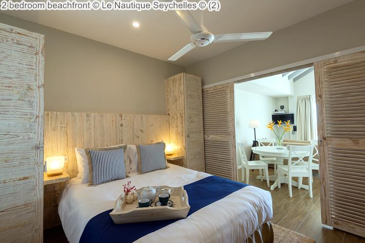 bedroom beachfront Le Nautique Seychelles