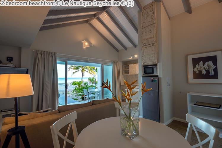 2 Bedroom Beachfront © Le Nautique Seychelles ©