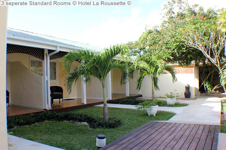 seperate Standard Rooms Hotel La Roussette