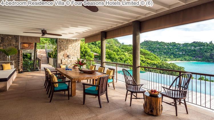 4 Bedroom Residence Villa © Four Seasons Hotels Limited ©