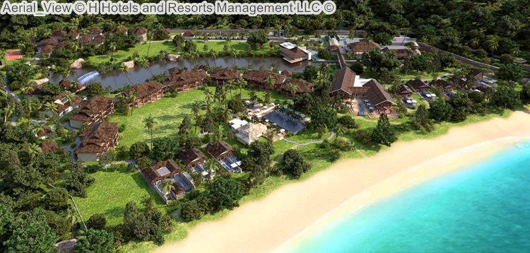Aerial View H Hotels and Resorts Management LLC