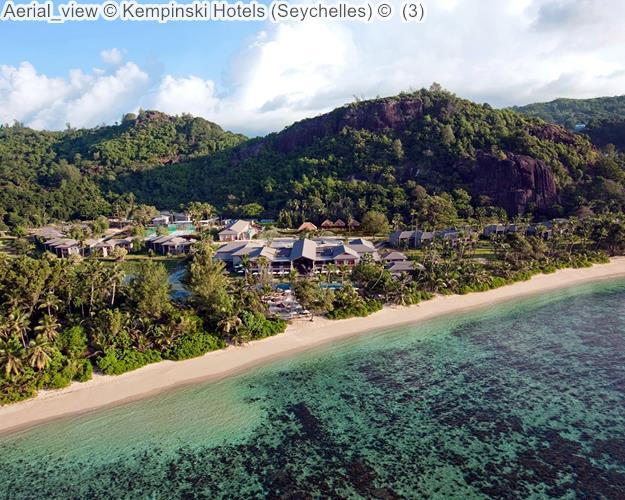 Aerial view Kempinski Hotels Seychelles
