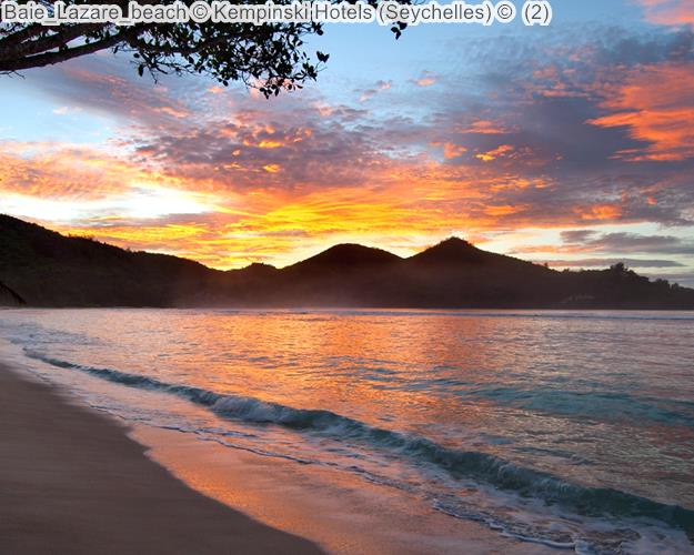 Baie Lazare beach Kempinski Hotels Seychelles