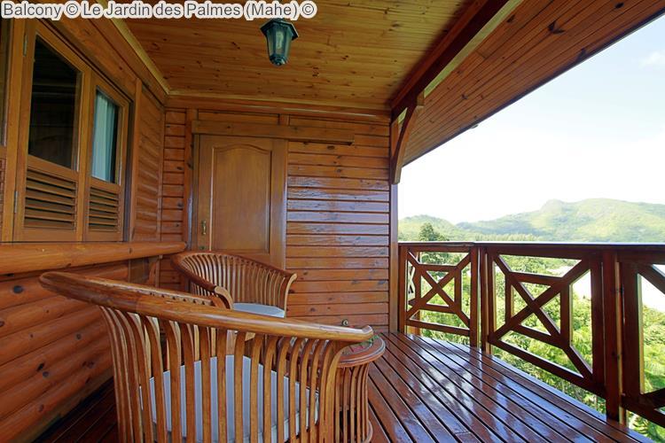 Balcony Le Jardin des Palmes Mahe