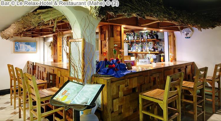 Bar © Le Relax Hotel & Restaurant (Mahe) ©
