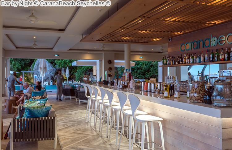 Bar By Night © CaranaBeach Seychelles ©