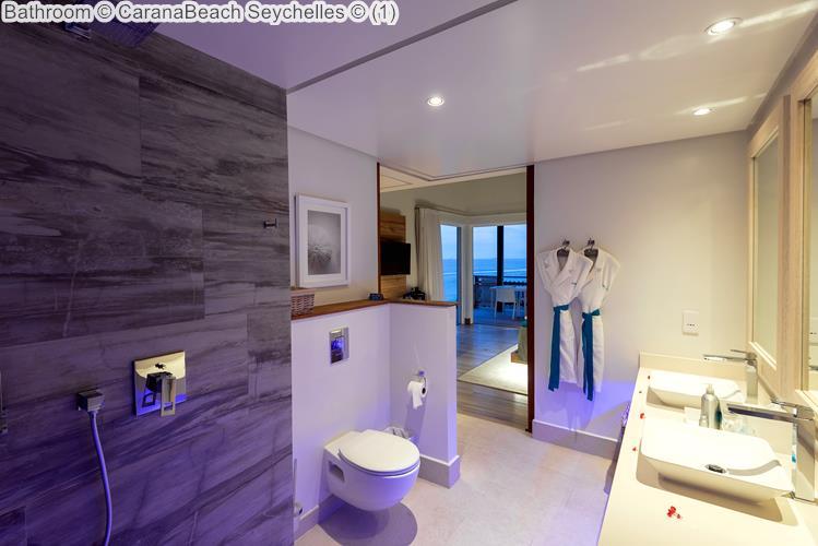 Bathroom CaranaBeach Seychelles