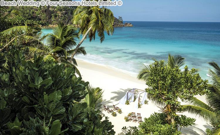 Beach Wedding Four Seasons Hotels Limited