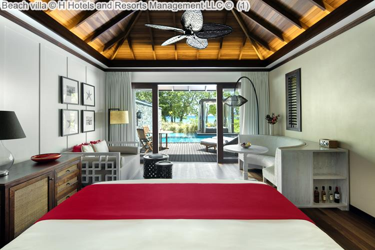 Beach Villa © The H Resort Beau Vallon Beach ©