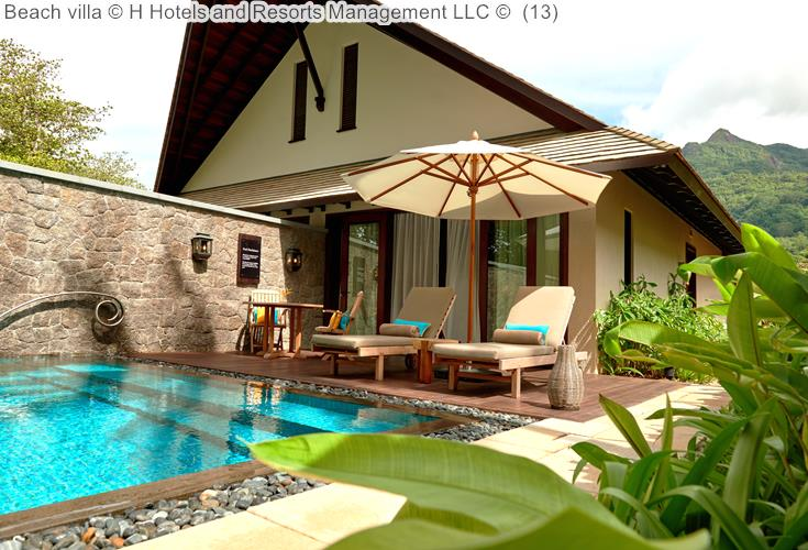Beach Villa © The H Resort Beau Vallon Beach