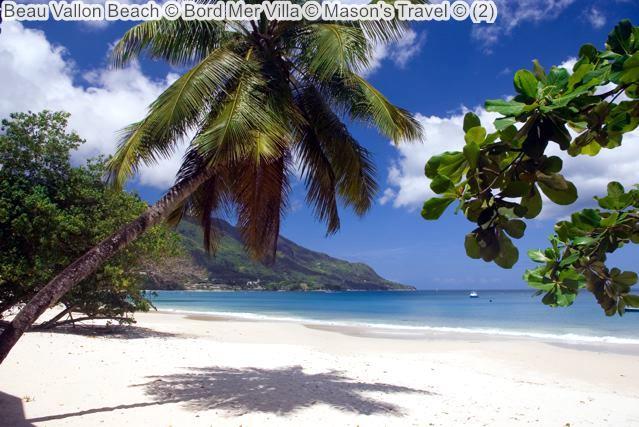 Beau Vallon Beach © Bord Mer Villa © Mason's Travel ©