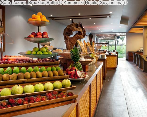 Cafe Lazare BreakfastBuffet © Kempinski Hotels (Seychelles) ©