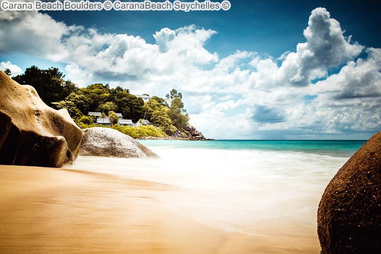 Carana Beach Boulders CaranaBeach Seychelles